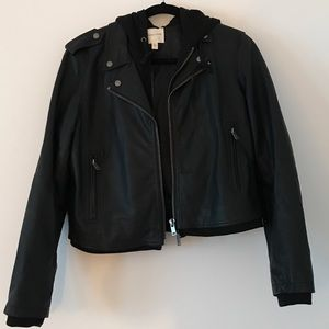 Urban Outfitters Silence + Noise Moto Jacket